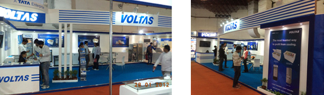 Voltas participates in Aahar 2014: International Food and Hospitality Fair, New Delhi