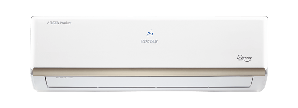 2ccd889e249 Voltas 123V EZL. Voltas 1.0 Ton 3 Star (BEE rating 2018) 123V EZL Copper  Inverter Split AC ...